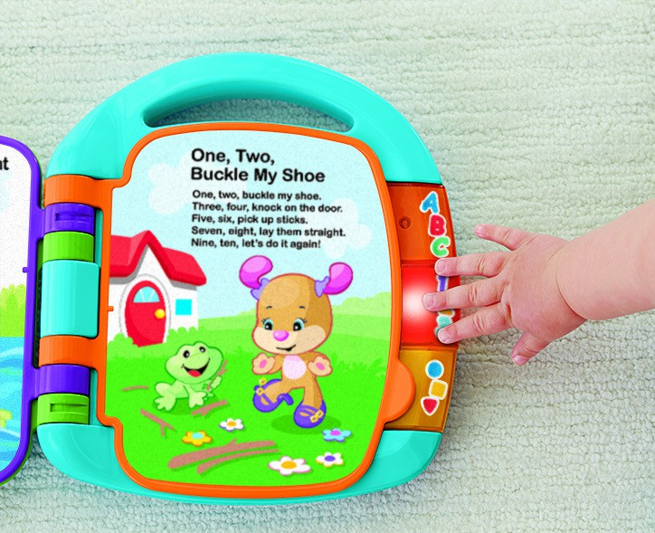 Fisher-Price_Laugh & Learn Storybook Rhymes _AED 139