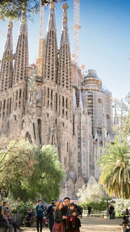Sagrada Familia | Winter In Barcelona – Photo Log