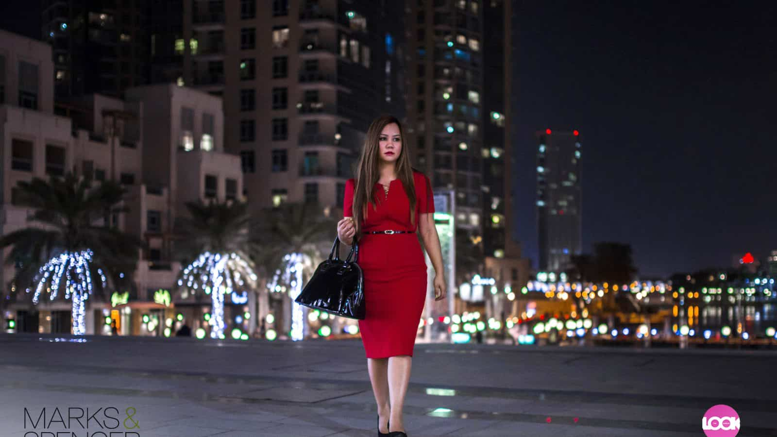 Red Lips. Red Dress. The Look Of Love. | The Look Bureau x Marks & Spencer
