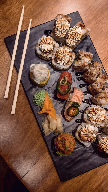 The Art Of Fusion At Mori Sushi