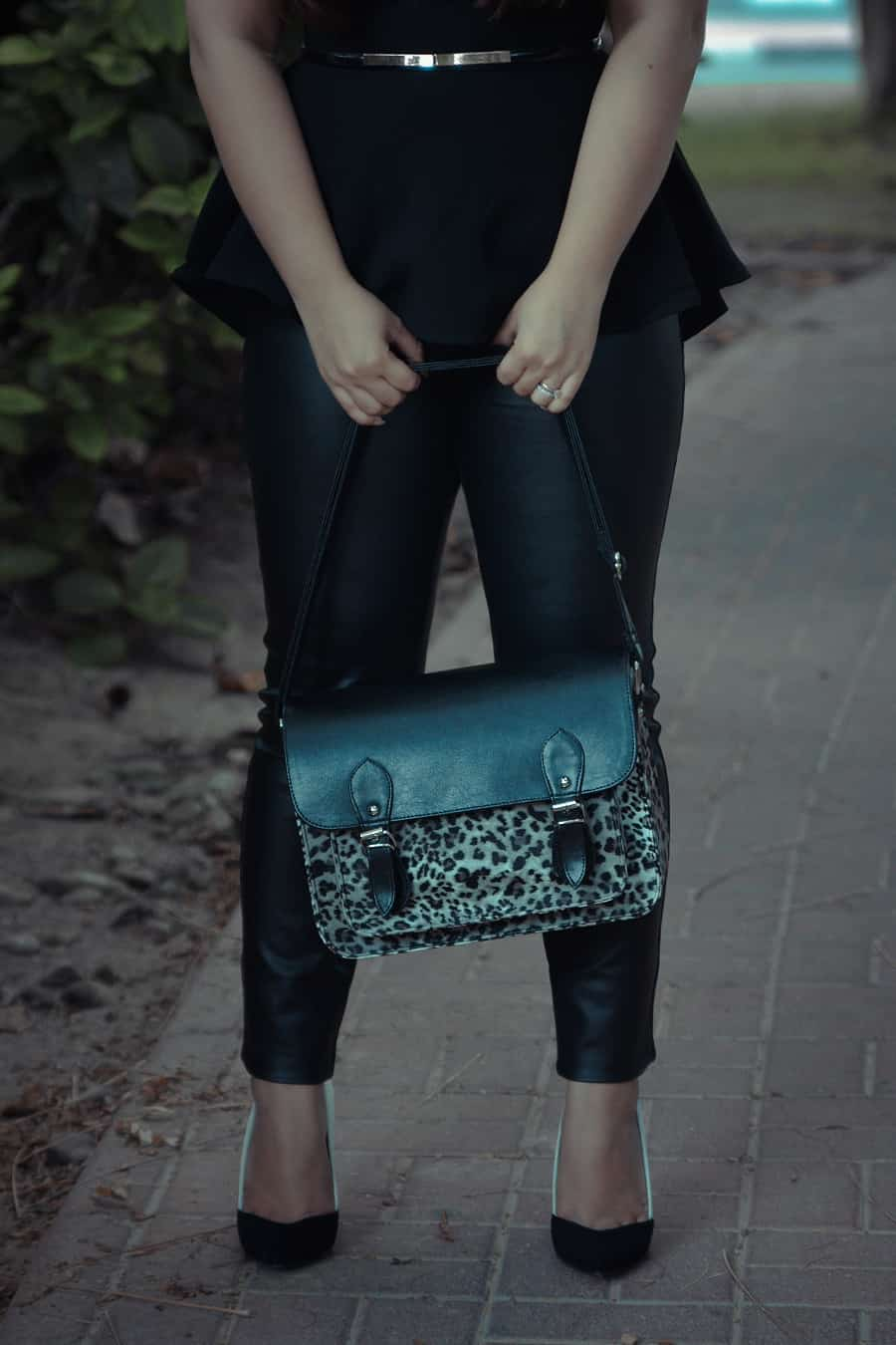 The Leopard Satchel